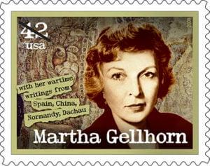 Martha Gellhorn stamp