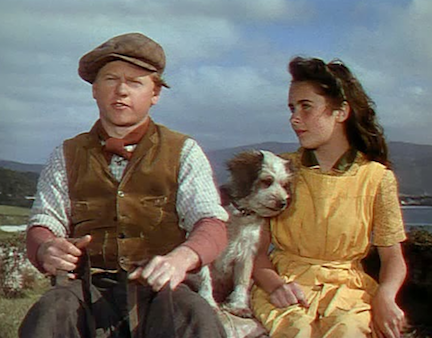 Mickey Rooney and Elizabeth Taylor in National Velvet