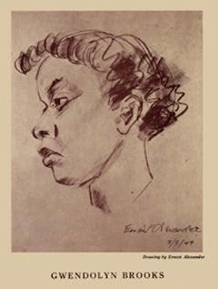 Sketch of Gwendolyn Brooks (1949)