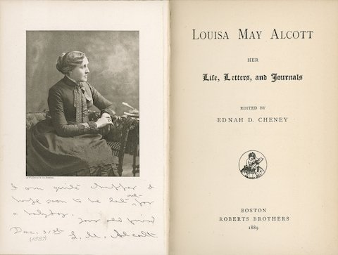 louisa may alcott - life, letters, journals edited by Ednah cheney