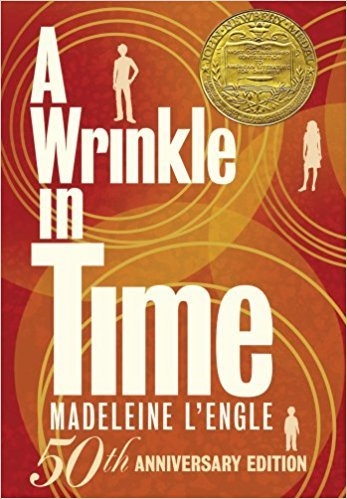 A wrinkle in Time 50th anniversary cover