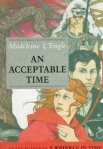 An acceptable time by Madeleine L'Engle cover 1989