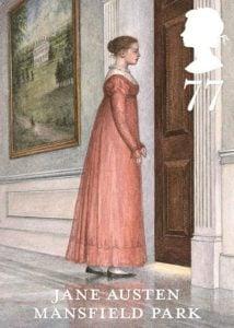 Jane Austen Mansfield Park stamp 2013