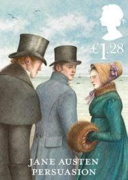 Jane Austen Persuasion stamp 2013