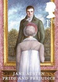 Jane Austen Pride and Prejudice Stamp 2013