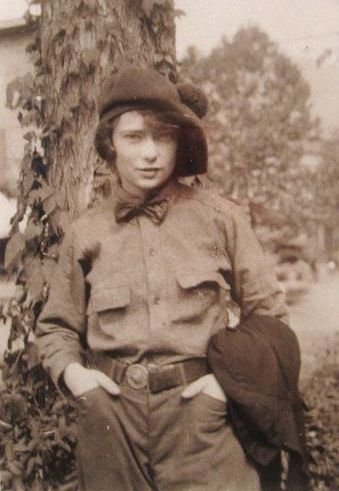 Margaret Mitchell young in boys clothing