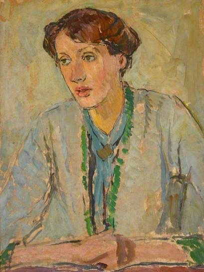 Virginia Woolf painting by Vanessa Bell, 1912