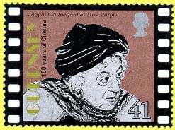 Agatha Christie Miss Marple stamp