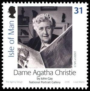 Agatha Christie stamp Isle of Man 2006