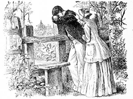 Illustration by Frank T. Merrill from Little Women by Louisa May Alcott