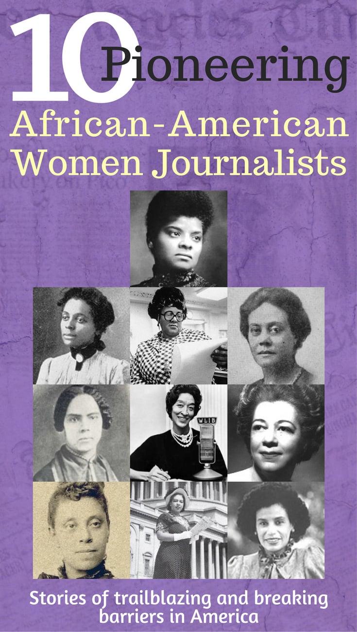 10 Pioneering African-American Women Journalists