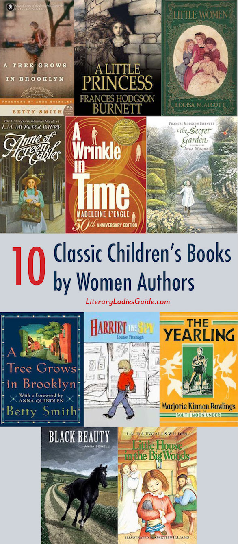 10 classic children's books by women authors