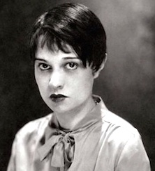 Anita Loos, author of Gentleman Prefer Blondes