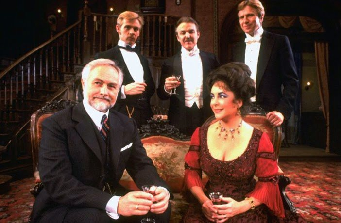 Elizabeth Taylor as Regina in the 1981 revival of The Little Foxes