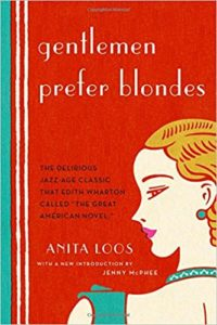Gentlemen Prefer Blondes by Anita Loos (1925)