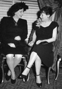 Lillian Hellman & Dorothy Parker