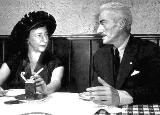 Lillian Hellman & Dashiell Hammett