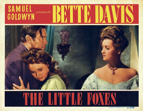 Little Foxes 1941 Film starring Bette Davis