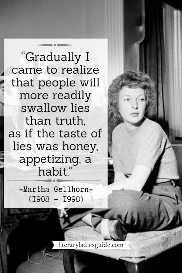 Quotes by Martha Gellhorn