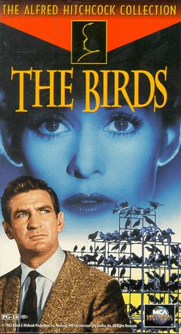 The Birds - 1963 film directed by Alfred Hitchcock, based on the novella by Daphne du Maurier