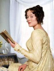 Jennifer Ehle as Elizabeth Bennet in Pride and Prejudice 1995