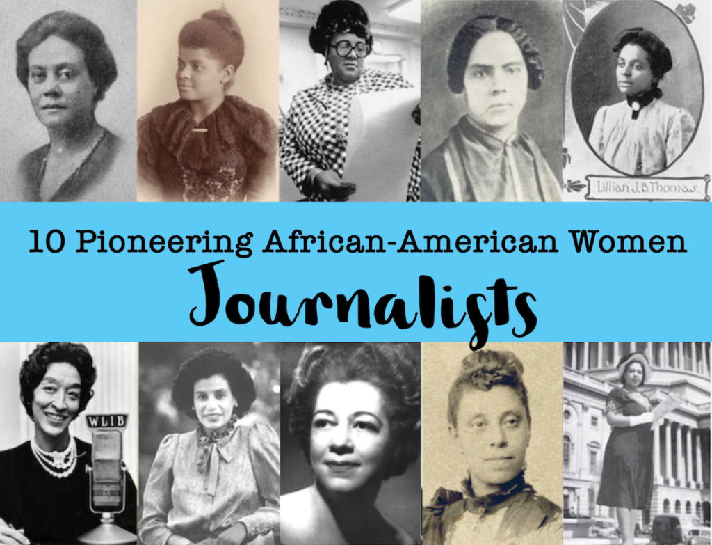 African-American Women Journalists horizontal