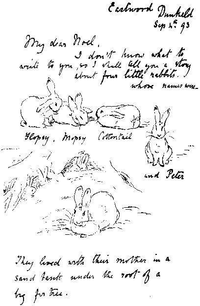 Beatrix Potter Letter to Noel Moore