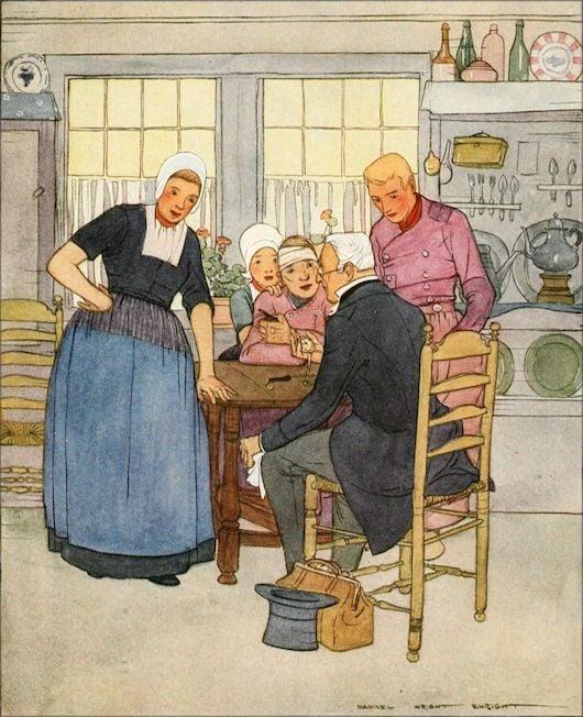 Hans Brinker illustration Maginel Wright Enright