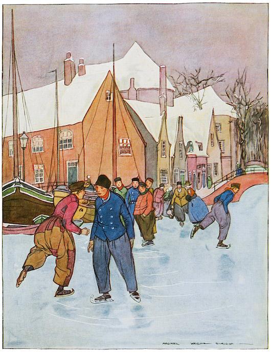 Hans Brinker illustration by Maginel Wright Enright