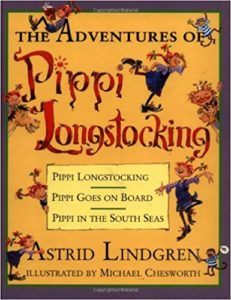 Pippi Longstocking books by Astrid LIndgren