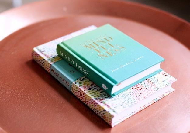 Mindfulness books - photo by Breather / Unslplash