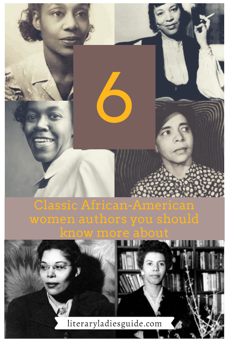 6 african-american women authors