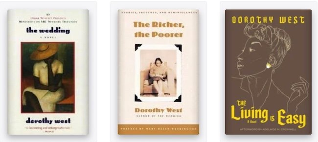 Dorothy West books