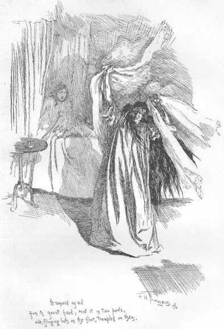 Illustration from Charlotte Bronte's Jane Eyre