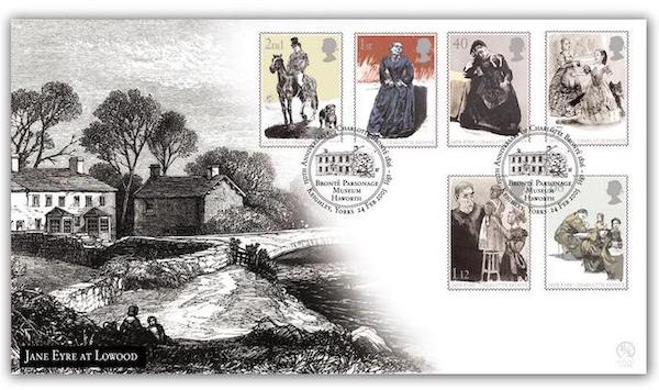 Jane Eyre Stamps UK