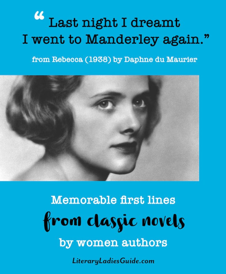 Memorable First Lines From Classic Novels By Women Authors