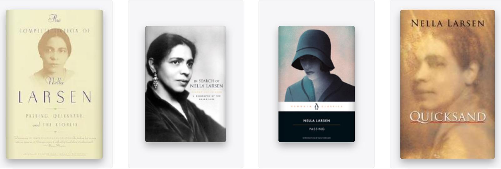 Nella Larsen books
