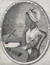 Phillis Wheatley, first African-American poet
