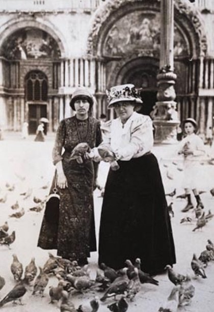 Alice B. Toklas and Gertrude Stein in Venice, 1908