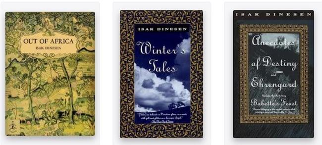 Isak Dinesen books
