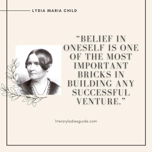 Lydia maria child quote