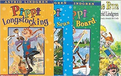 Pippi Longstocking book series set