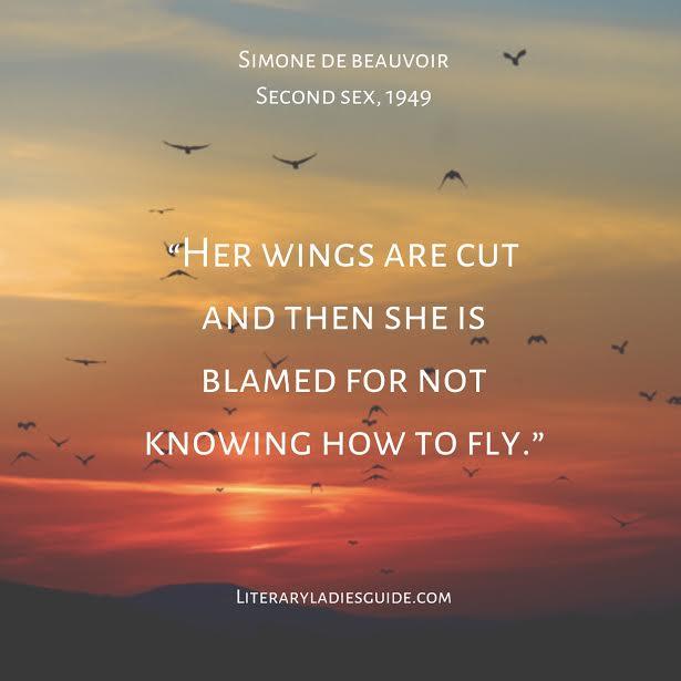 Second Sex quote by Simone de Beauvoir