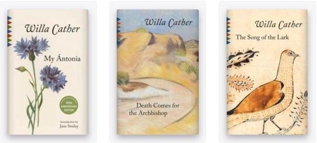 Willa Cather books