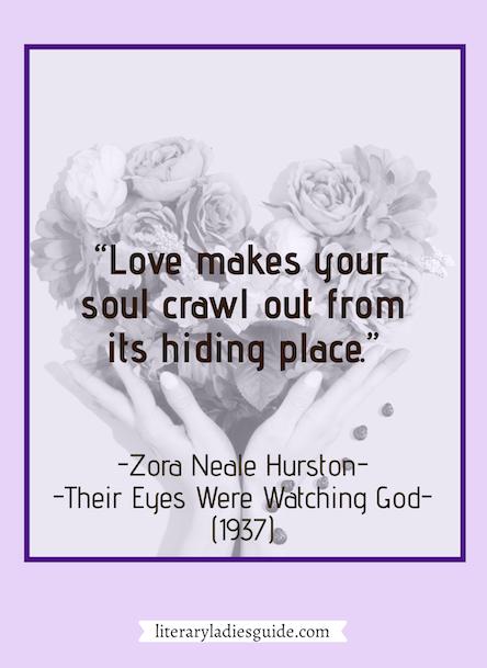Zora Neale Hurston - their eyes were watching god quote