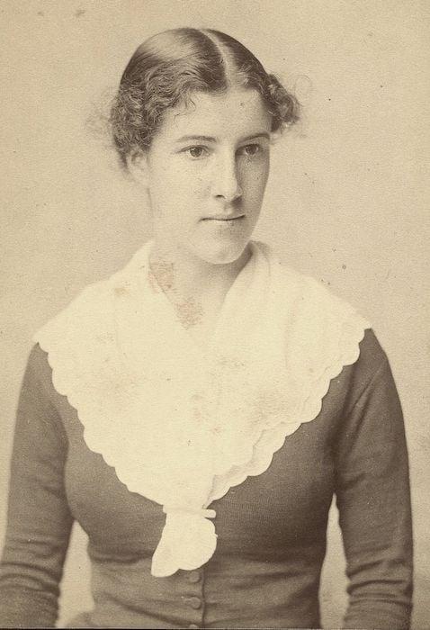 Charlotte Perkins Gilman age 24, 1884