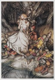 Illustration for Goblin Market by Christina Rossetti - Arthur Rackham