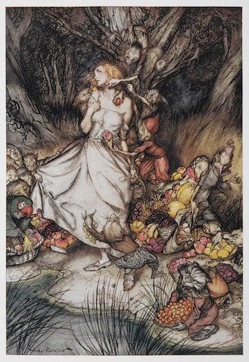 Goblin Market By Christina Rossetti Literaryladiesguide