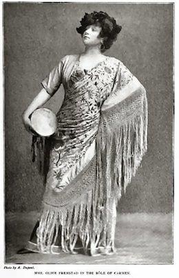 Olive Fremstad as Carmen