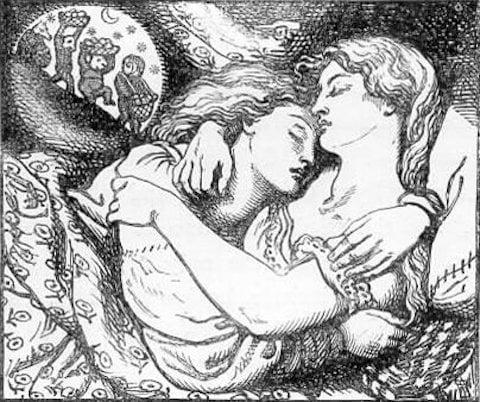 Rossetti illustration for Goblin Market
